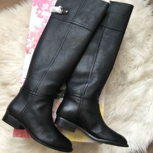 Chinese Laundry Flash Leather Over The Knee Boots
